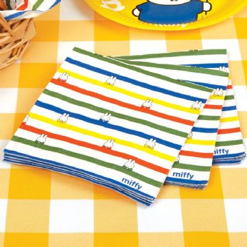 Miffy Paper Party Napkinns - pack of 16